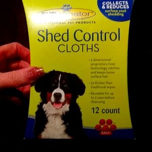 Furminator Shed Control Cloths